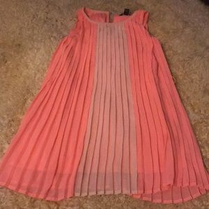 Tommy hillfiger girls tangerine pleated dress  7